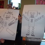 Second Grade Two Robots