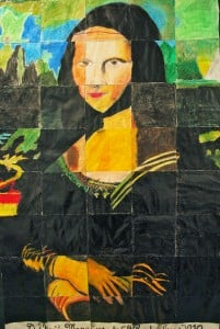 Giant Mona Lisa #3