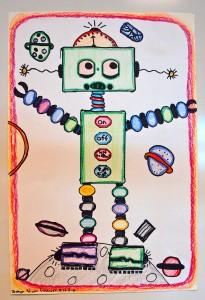 2nd Grade Robot