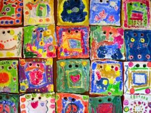 Many Beautiful Tiles