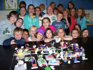 Fourth Grade - Calder Junk Sculptures