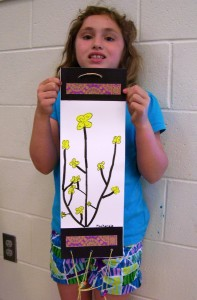 2nd Grade Forsythias