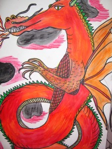 red dragon-5th grade