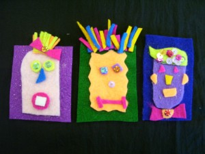 Fourth Grade Felt Pins