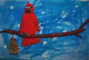 Ingrid's Grade 2 Cardinal