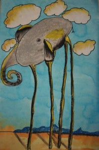 Surreal Elephant