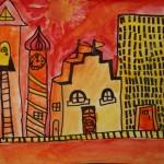 Grade 2 Warm Cityscape