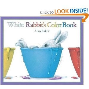 white rabbits color book - Color Books For Kindergarten