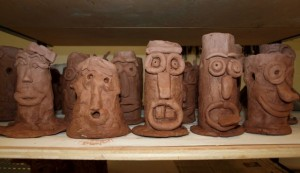 Fifth Grade Clay Project
