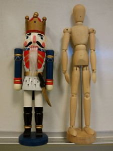 Nutcracker & Mannequin