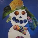 Surreal Snowman