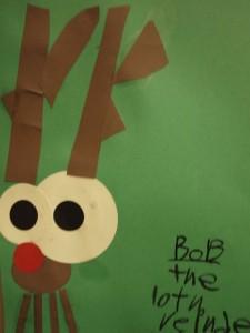 First Grade Reindeer