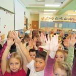 Kindergarten Vertical Lines