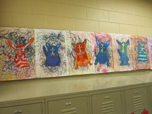 Third Grade Blue Dogs