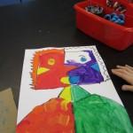 First Grade Picassos