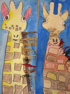 Second Grade Giraffes