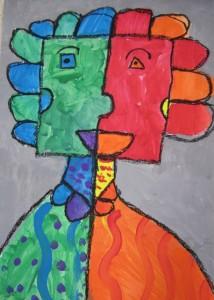 First Grade Picasso