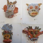 Second Grade mini-masks
