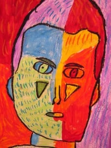 Third Grade Self Portrait