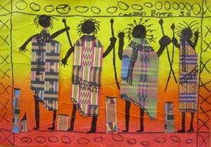 Third Grade African Masai