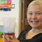 Cup Weaving-fourth grade