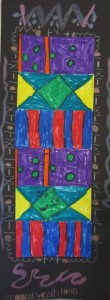 First Grade Kente Cloth