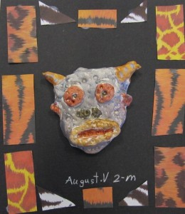 Second Grade mini mask