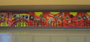 fifth grade hallway art