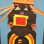 First Grade Masai Portrait