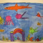 first grade fish bowl