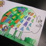 first grade chameleon