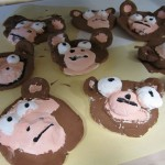 second grade clay monkeys