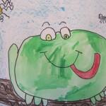 kindergarten frog