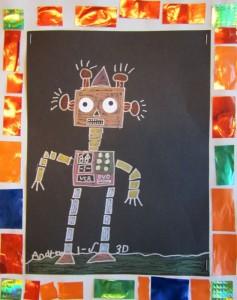 1st Grade Robot