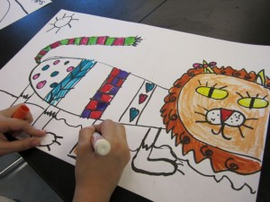 kindergarten lion