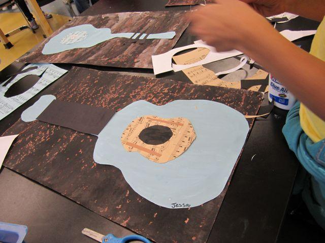 Picasso Blue Guitars Georgetown Elementary Art Blog