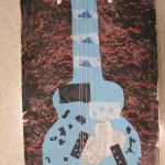 third grade blue guitars