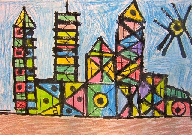 first grade architects georgetown elementary art blog