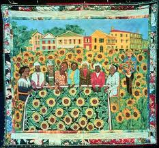 "Ringgold - ""The Sunflower Quilting Bee at Arles"""